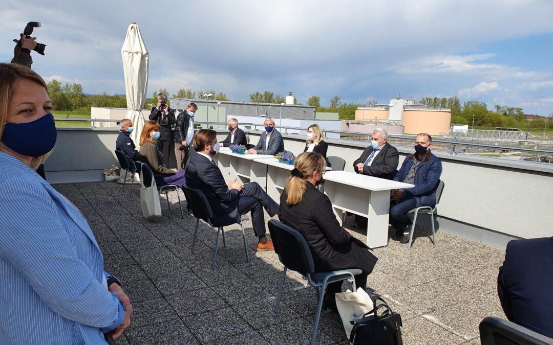 Gradonačelnik Tomislav Boljar potpisao ugovor kojim započinje projekt Aglomeracije Karlovac – Duga Resa